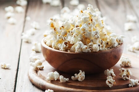Can gerbils eat popcorn?