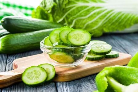 are gerbils allowed cucumber?