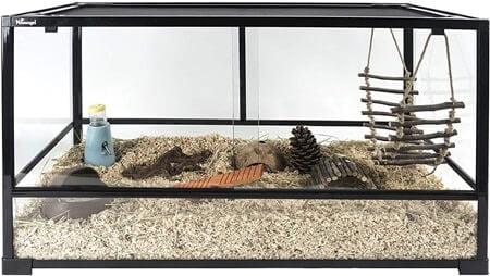 Niteangel Glass Pet Cage
